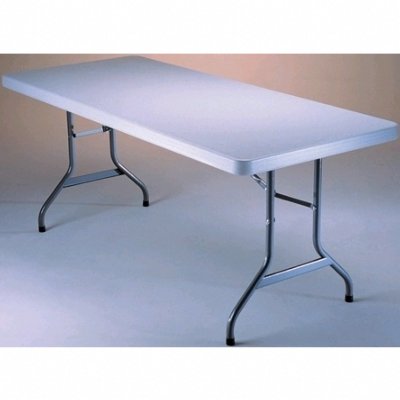 TABLE PLIANTE RECTANGULAIRE EN POLYETHYLENE