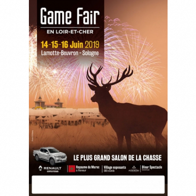 GAME FAIR LAMOTTE BEUVRON 2019