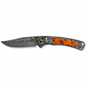 COUTEAU BENCHMADE  DAMAS MINI CROOKED RIVER